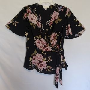 Wrap dress shirt